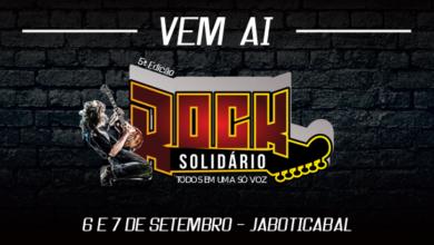 Photo of 5ª edição do Rock Solidário será neste final de semana