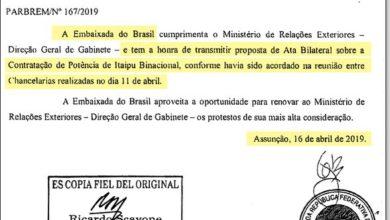 Photo of Novos documentos mostram que acordo secreto de Itaipu começou por iniciativa do governo Bolsonaro