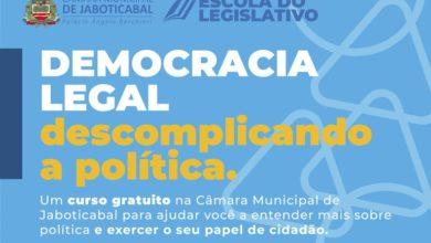 """Photo of Curso """"DEMOCRACIA LEGAL"""" retoma atividades no próximo dia 19 de fevereiro"""