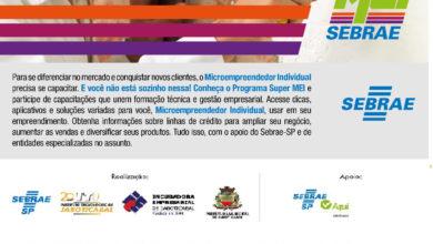 Photo of SEBRAE abre inscrições para Programa Super Mei