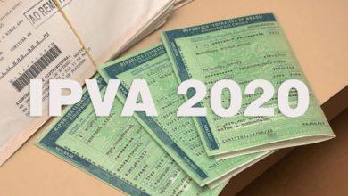 Photo of Valor do IPVA 2020 está disponível para consulta a partir desta sexta-feira, 20/12