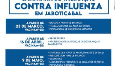 """Photo of Vacina contra a gripe para idosos também na estação de eventos """"Cora Coralina"""