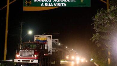 Photo of Caminhões com mais de 100 mil m³ de oxigênio da Venezuela chegam a Manaus