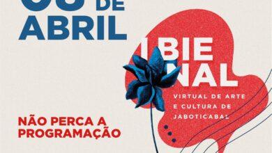 Photo of Três atrações marcam a programação da quinta, 8 de abril, da I Bienal Virtual de Arte e Cultura de Jaboticabal