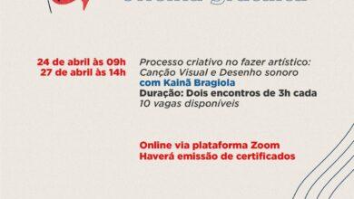 Photo of Inscrições abertas para oficinas com Kainã Bragiola na I Bienal Virtual de Arte e Cultura de Jaboticabal