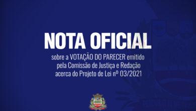 Photo of NOTA OFICIAL DA CÂMARA MUNICIPAL DE JABOTICABAL