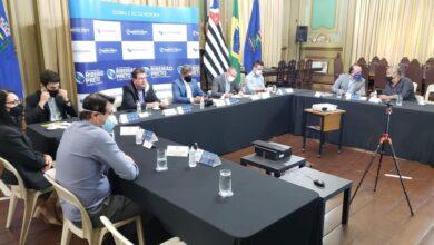 Photo of Prefeito de Jaboticabal, Prof. Emerson participa de reunião para Assinatura Virtual do Contrato de Estruturação da Concessão de Serviços de Manejo de Resíduos Sólidos Urbanos