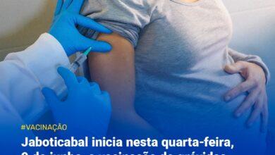 Photo of Vacinação de grávidas e puérperas sem comorbidades em Jaboticabal
